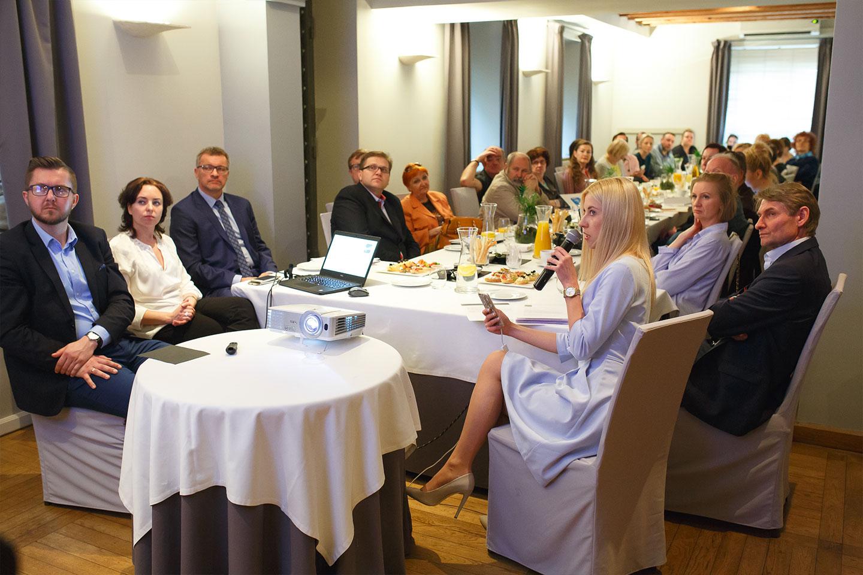 Konferencja prasowa organizowana przez agencję pr