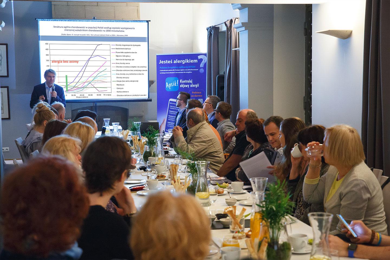 Konferencja organizowana przez agencję pr