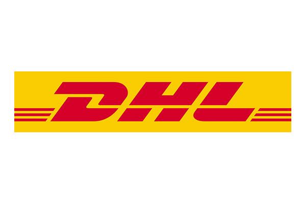 logo dhl - współpraca z agencją pr Clue PR